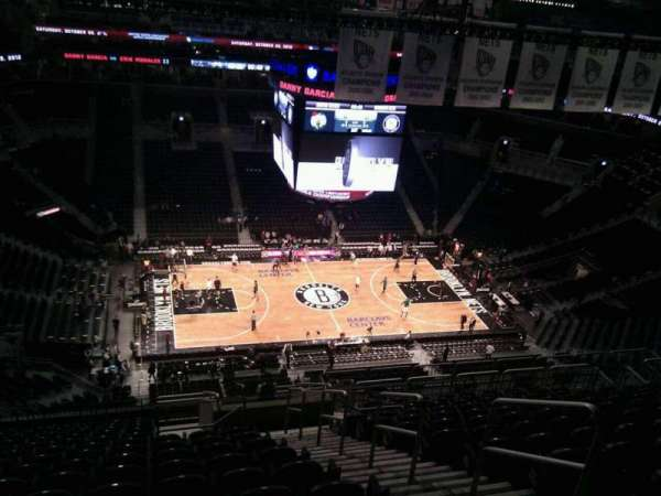 Barclays Center, section: 226, row: 17, seat: 4