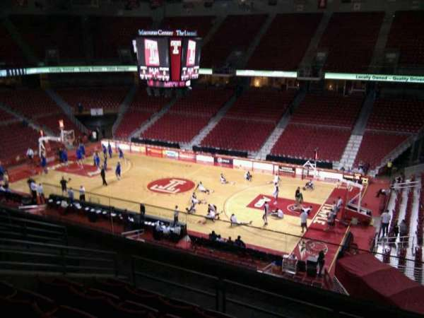 Liacouras Center, section: 201, row: h, seat: 5