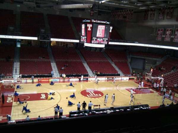 Liacouras Center, section: 204, row: f, seat: 14