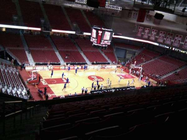 Liacouras Center, section: 205, row: s, seat: 23