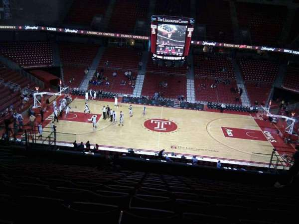 Liacouras Center, section: 213, row: n, seat: 9