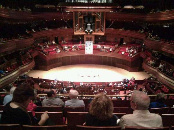 Verizon Hall at the Kimmel Center, section: third tier, row: D