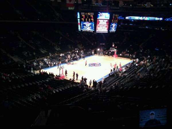 Madison Square Garden, section: 207, row: 1, seat: 3