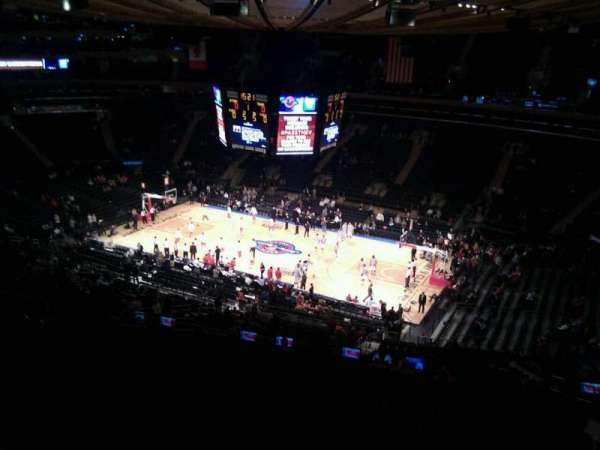 Madison Square Garden, section: 213, row: 17, seat: 17