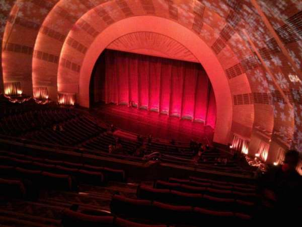 Radio City Music Hall, section: 3rd mezzanine 1, row: h, seat: 109