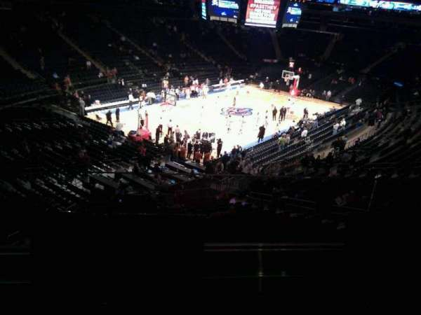 Madison Square Garden, section: 220, row: 2, seat: 8