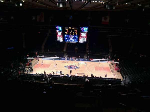 Madison Square Garden, section: 224, row: 17, seat: 22