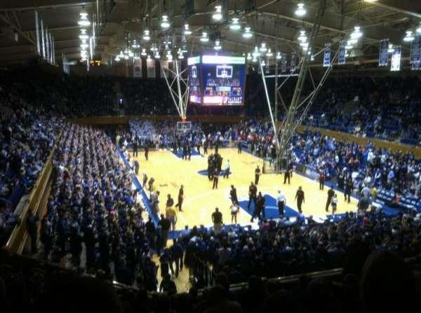 Cameron Indoor Stadium, section: 2, row: L, seat: 24