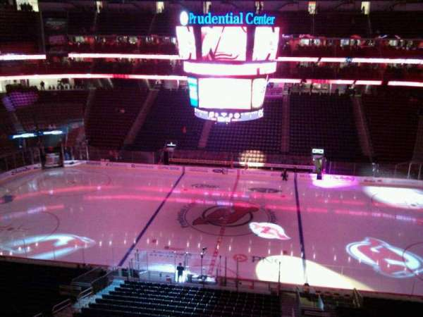 Prudential Center, section: 129, row: 1, seat: 11