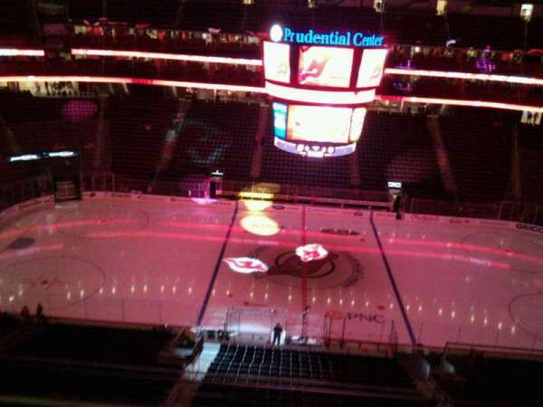 Prudential Center, section: 128, row: 5, seat: 3