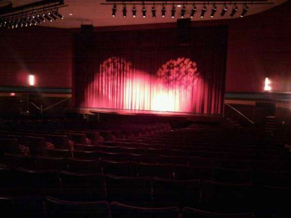 Landis Theater, section: orchestra right, row: x, seat: 16