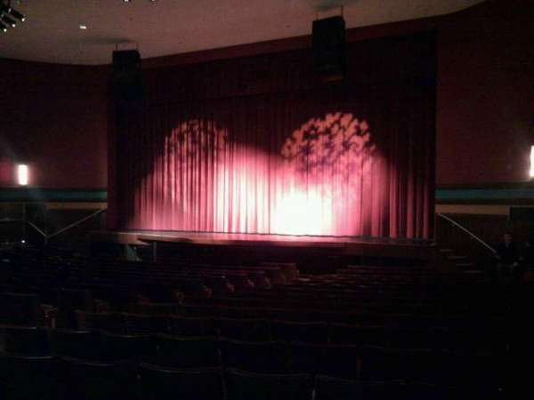 Landis Theater, section: orchestra right, row: s, seat: 18