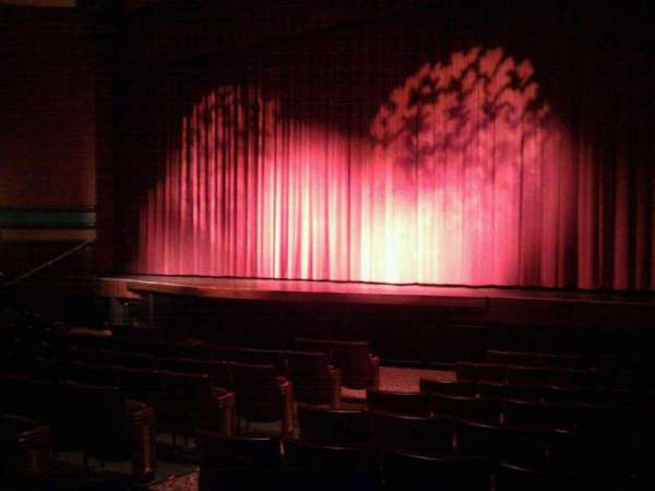 Landis Theater, section: orchestra right, row: k, seat: 12