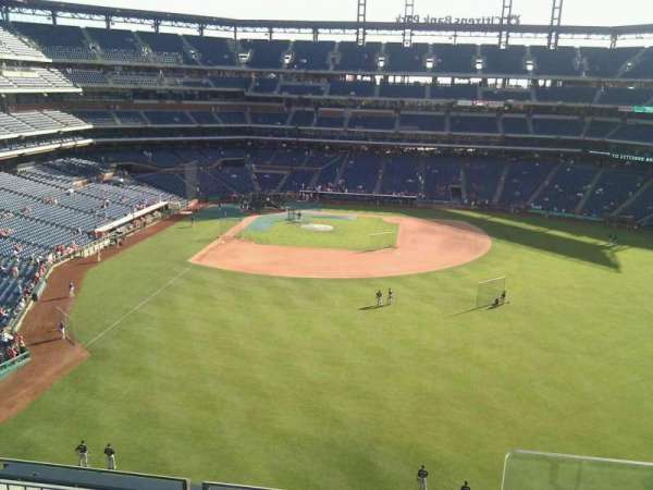 Citizens Bank Park, section: 303, row: 4, seat: 1