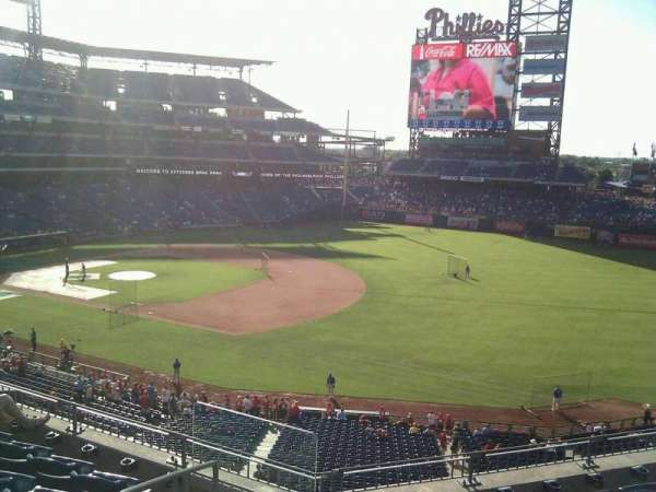 Citizens Bank Park, section: 210, row: 6, seat: 21