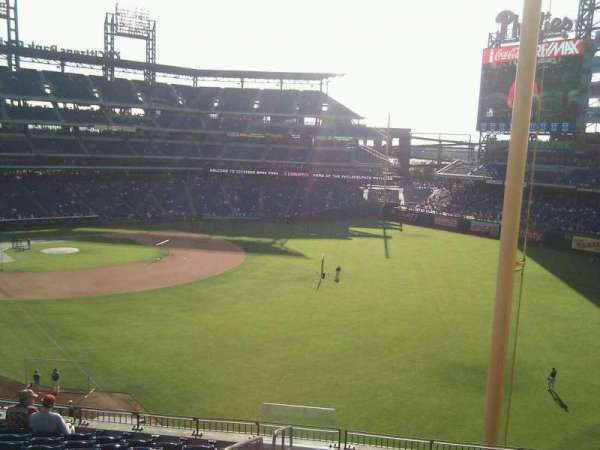 Citizens Bank Park, section: 307, row: 21, seat: 25