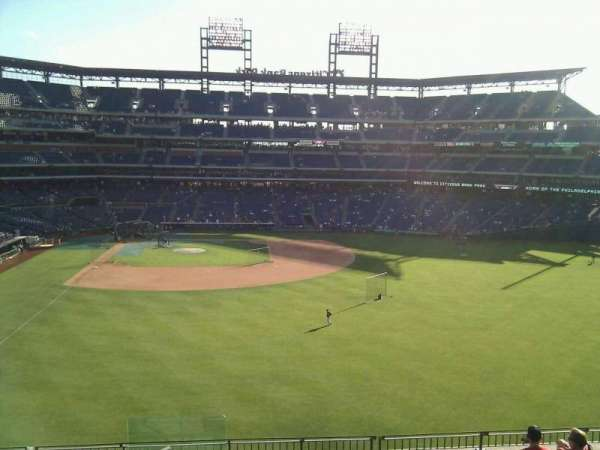 Citizens Bank Park, section: 203, row: 9, seat: 24