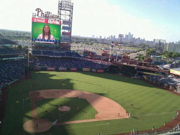 Citizens Bank Park, section: 417, row: 9, seat: 21