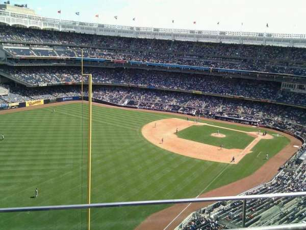 Yankee Stadium, section: 432a, row: 2, seat: 9