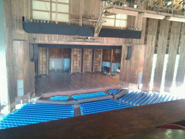 The Mann, section: balcony box 4, seat: 9