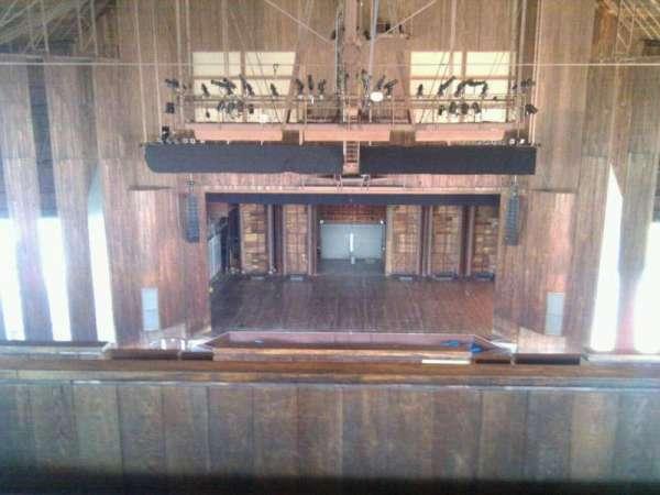 The Mann, section: Balcony 200, row: CCC, seat: 215