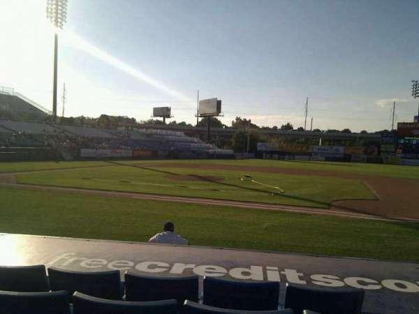 Frawley Stadium, section: 8, row: 5, seat: 2