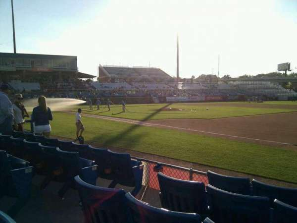 Frawley Stadium, section: 4, row: 5, seat: 7
