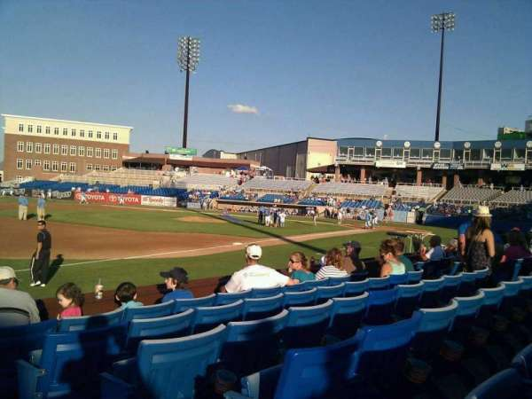Frawley Stadium, section: 26, row: 6, seat: 1