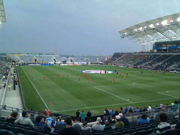 Talen Energy Stadium, section: 120, row: u, seat: 20