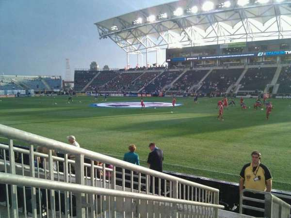 Talen Energy Stadium, section: 124, row: f, seat: 14