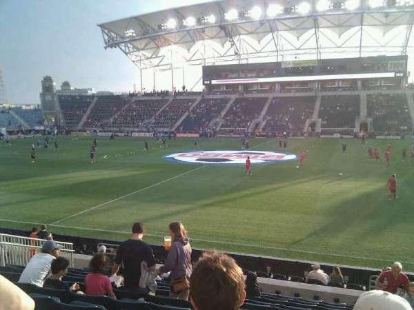Talen Energy Stadium, section: 126, row: n, seat: 4