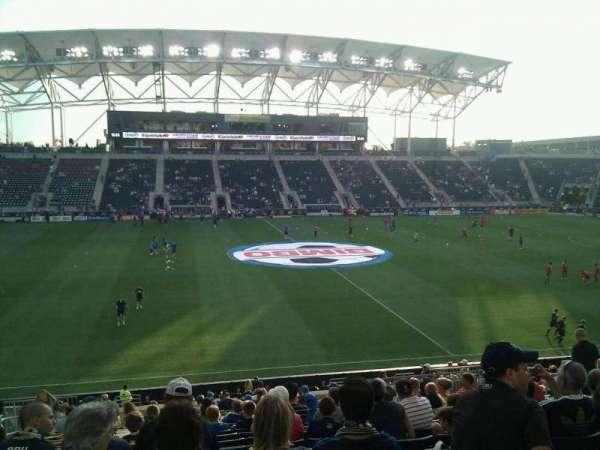 Talen Energy Stadium, section: 128, row: bb, seat: 15