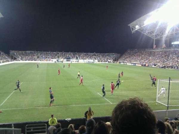 Talen Energy Stadium, section: 118, row: k, seat: 18