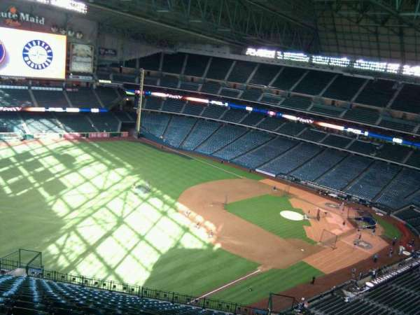 Minute Maid Park, section: 406, row: 19, seat: 20