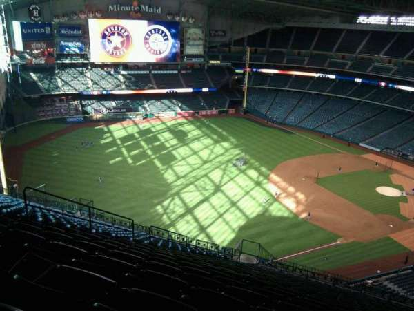 Minute Maid Park, section: 407, row: 23, seat: 13