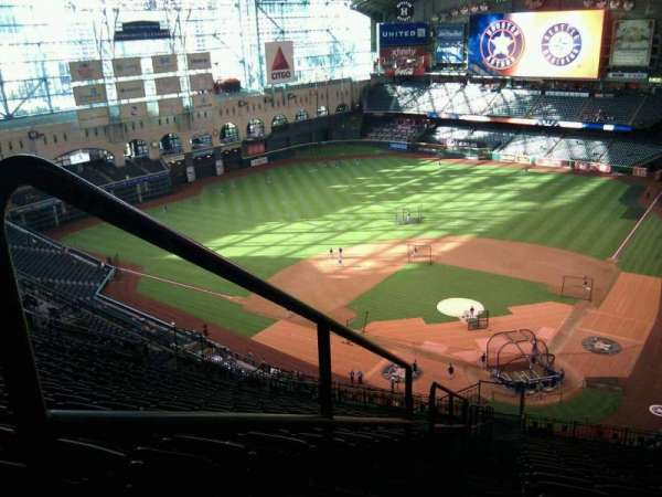 Minute Maid Park, section: 416, row: 17, seat: 30
