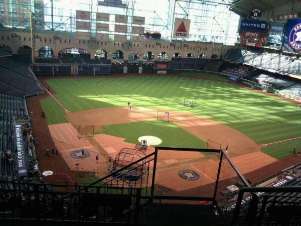 Minute Maid Park, section: 420, row: 4, seat: 20