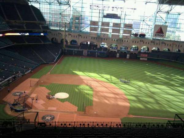 Minute Maid Park, section: 425, row: 14, seat: 5