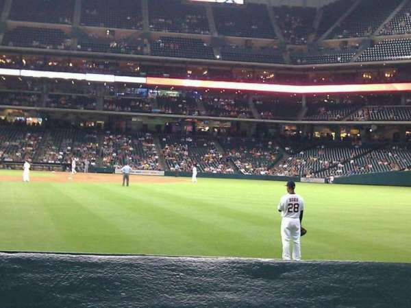 Minute Maid Park, section: 153, row: 1, seat: 10