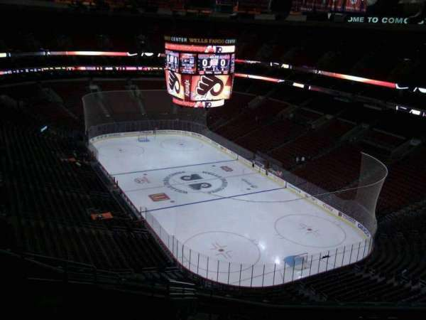 Wells Fargo Center, section: 205a, row: 14, seat: 5