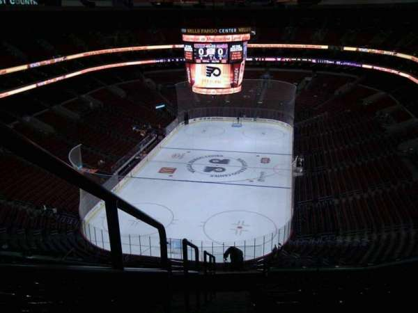 Wells Fargo Center, section: 208, row: 15, seat: 1