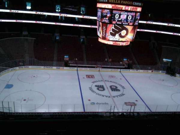 Wells Fargo Center, section: 212, row: 9, seat: 5