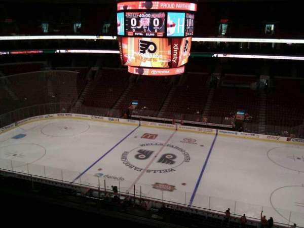 Wells Fargo Center, section: 215, row: 5, seat: 12