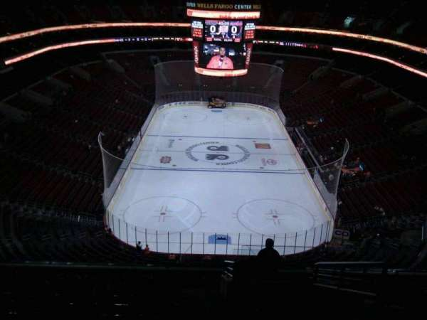 Wells Fargo Center, section: 219, row: 14, seat: 19