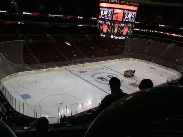 Wells Fargo Center, section: 222, row: 6, seat: 8