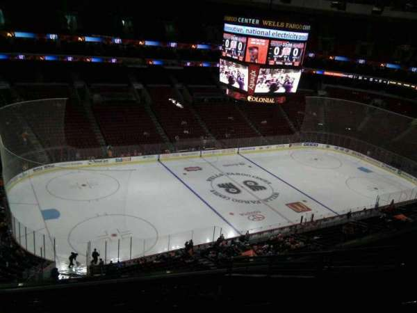 Wells Fargo Center, section: 222a, row: 11, seat: 11