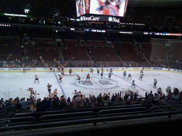 Wells Fargo Center, section: Club Box 24, row: 3, seat: 6