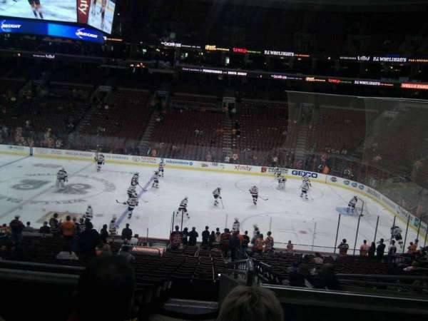Wells Fargo Center, section: Club Box 2, row: 4, seat: 18