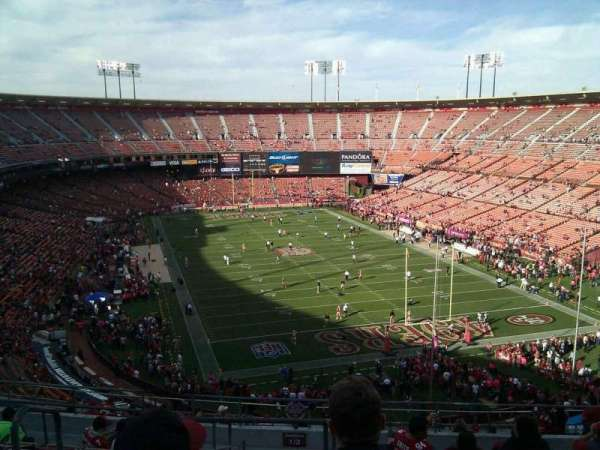 Candlestick Park, section: 3, row: 11, seat: 16