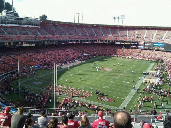 Candlestick Park, section: 15, row: 12, seat: 5